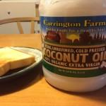 ココナッツオイルの実食日記 その1 ~ココナッツオイルはバターの代わりになるのか~