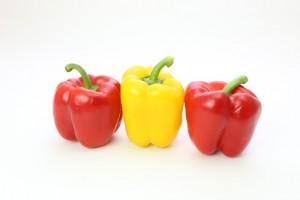 美白に効果的なビタミンCを含む食べ物-パプリカ
