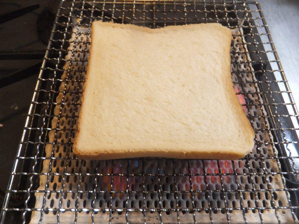 パンをのせますよー!