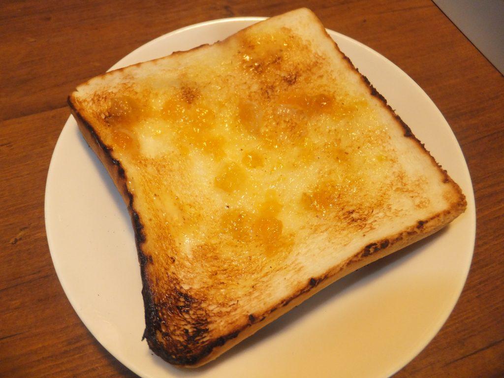 おいしいトーストのできあがり!