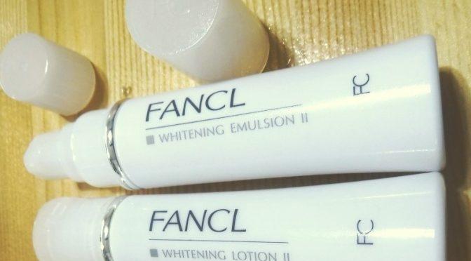 美白力にすぐれた「ファンケル無添加ホワイトニング」の美白一ヶ月実感キットを購入してみました。その3