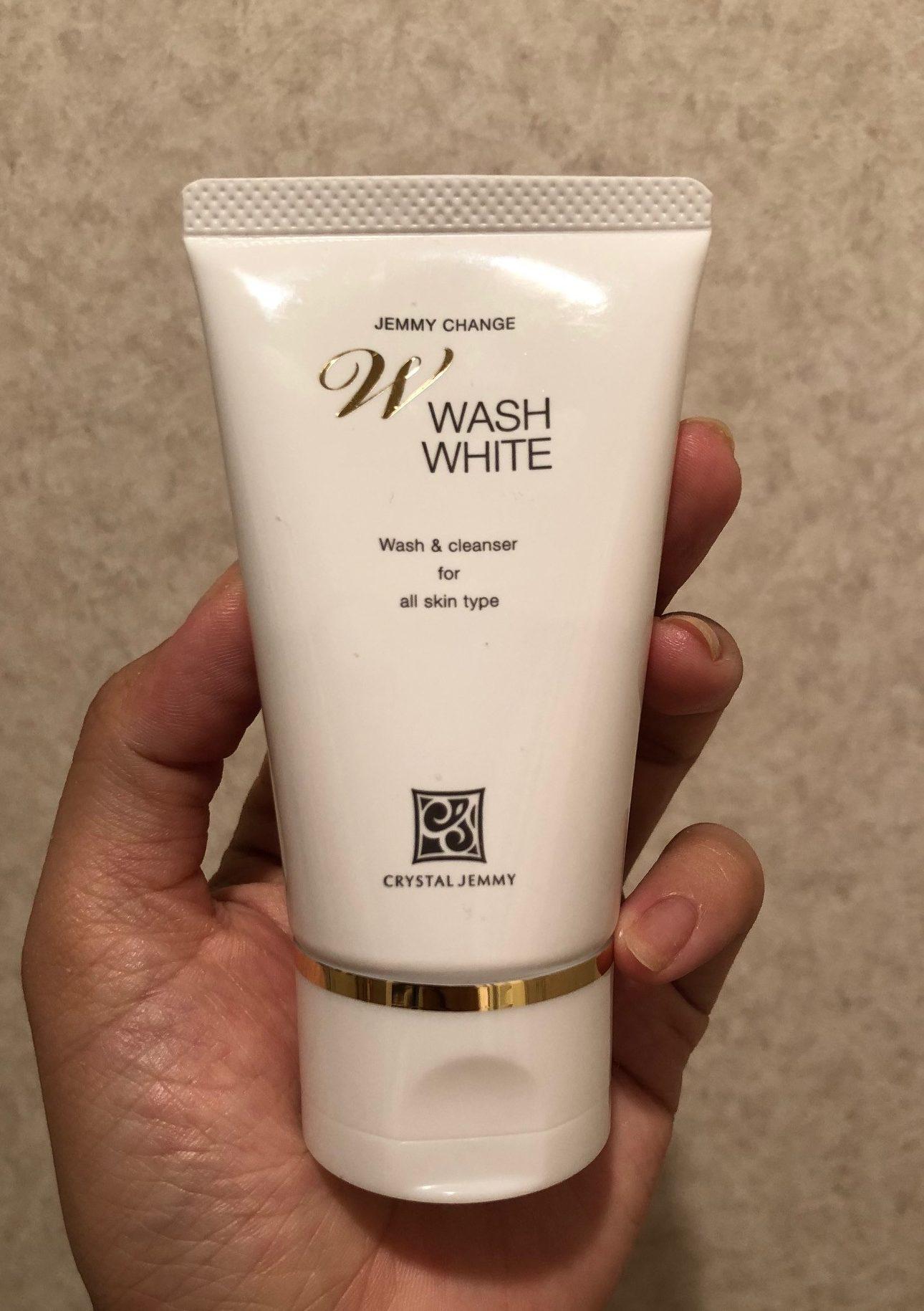 ジェミーチェンジ Wウォッシュホワイト 50g